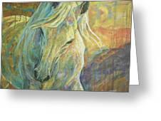 Opal Dream Greeting Card by Silvana Gabudean