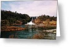 Dam At Raystown Lake Greeting Card