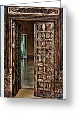 Open Door By Diana Sainz Greeting Card