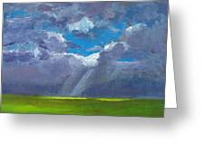 Open Field Majestic Greeting Card by Patricia Awapara