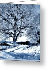 Open Gates Greeting Card