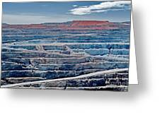 Open Pit Gold Greeting Card