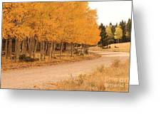 Open Road 5 Greeting Card