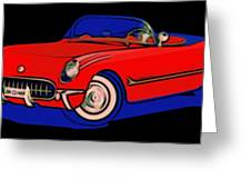 Open Road Dream Greeting Card