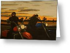 Open Road. Greeting Card