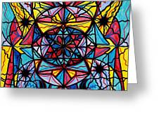 Open To The Joy Of Being Here Greeting Card by Teal Eye  Print Store