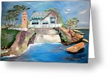 Opera By The Sea Greeting Card by Jan Moore