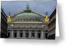 Opera Garnier Greeting Card