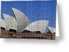 Opera House 4 Greeting Card