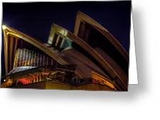 Opera House Sails Greeting Card