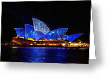 Opera House Sydney Australia Greeting Card