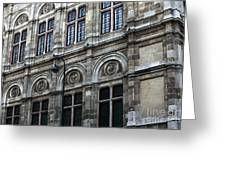 Opera House Windows Greeting Card