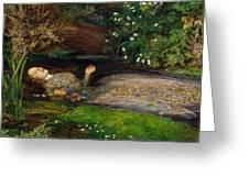 Ophelia  Greeting Card by John Everett Millais
