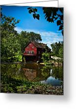 Opie's Grist Mill Greeting Card