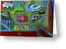 Oporto Greeting Card