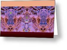 Opositecolorsmix Greeting Card