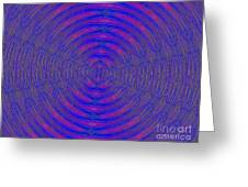 Opposing Forces Greeting Card