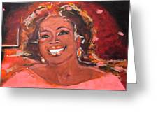 Oprah Winfrey Greeting Card