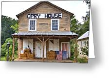 Opry House - Square Greeting Card