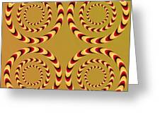 Optical Ilusions Summer Spin Greeting Card