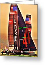 Oracle Ac 45's Greeting Card