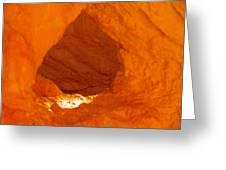 Orange Door Greeting Card