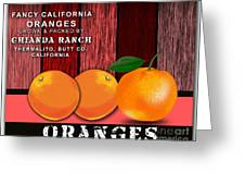 Orange Farm Greeting Card