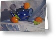 Orange Pekoe Tea Greeting Card