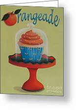 Orangeade Cupcake Greeting Card