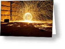 Orb Of Light Greeting Card
