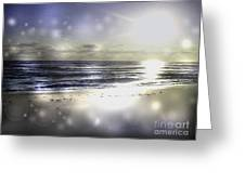 Orbs Of Healing Greeting Card by Jeffery Fagan