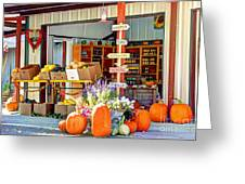 Orchard Valley Market Greeting Card