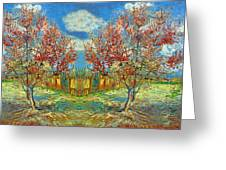 Orchards Greeting Card