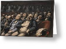 Orchestra Seat Greeting Card