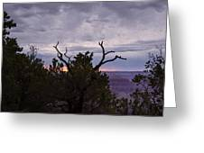 Orchestrating A Sunset At The Grand Canyon Greeting Card