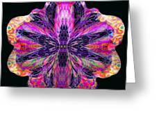 Orchid Digi Greeting Card