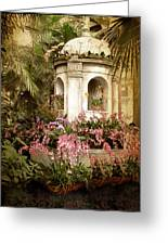 Orchid Exhibition Greeting Card