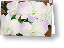 Orchid Splendor Painting Greeting Card