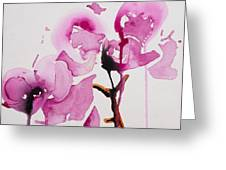 Orchid Study I Greeting Card