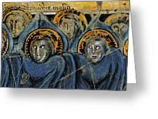Order Of Cherubim Angels - Study No. 2 Greeting Card