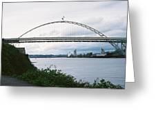 Oregon Bridge Greeting Card