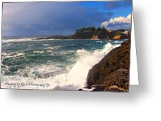 Oregon Coast 9 Greeting Card