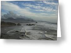 Oregon Coast Ecola 1 F Greeting Card