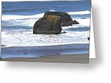 Oregon Coast Panorama Greeting Card