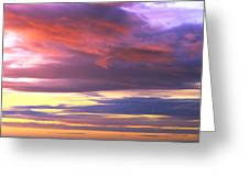 Oregon Coast Sunset Greeting Card