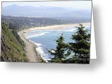 Oregon Coast View Greeting Card