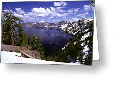 Oregon Crater Lake  Greeting Card
