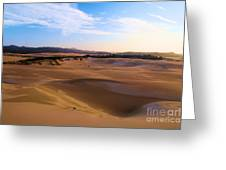 Oregon Dunes Landscape Greeting Card