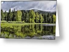 Oregon Lake Greeting Card