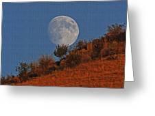 Oregon Moon Greeting Card